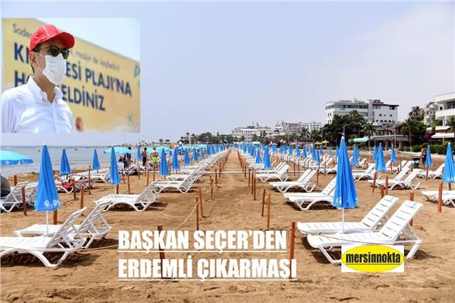 BAŞKAN SEÇER'DEN ERDEMLİ ÇIKARMASI