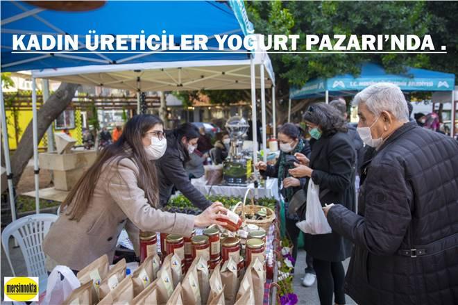 KADIN ÜRETİCİLER YOĞURT PAZARI'NDA