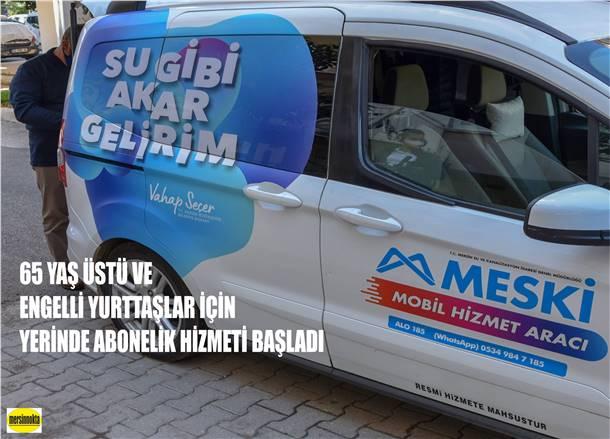 """""""SU GİBİ AKAR GELİRİM"""" MOBİL HİZMET ARACIYLA SINIR TANIMIYOR"""