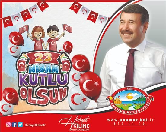 23 Nisan Ulusal Egemenlik ve Çocuk Bayramı mesaj