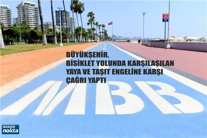 YAYALARA 'BİSİKLET YOLU' ÇAĞRISI