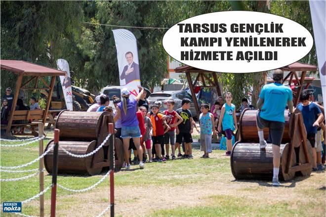 TARSUS GENÇLİK KAMPI'NDA HALK GÜNLERİ BAŞLADI