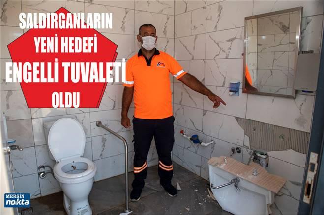 BU KEZ HEDEF ENGELLİ TUVALETİ